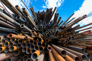 rusted-scrap-metal-pipes